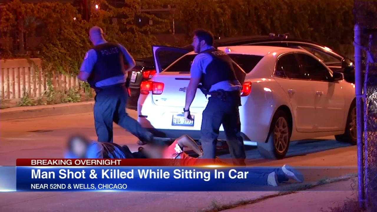 Man fatally shot while sitting in car in Fuller Park
