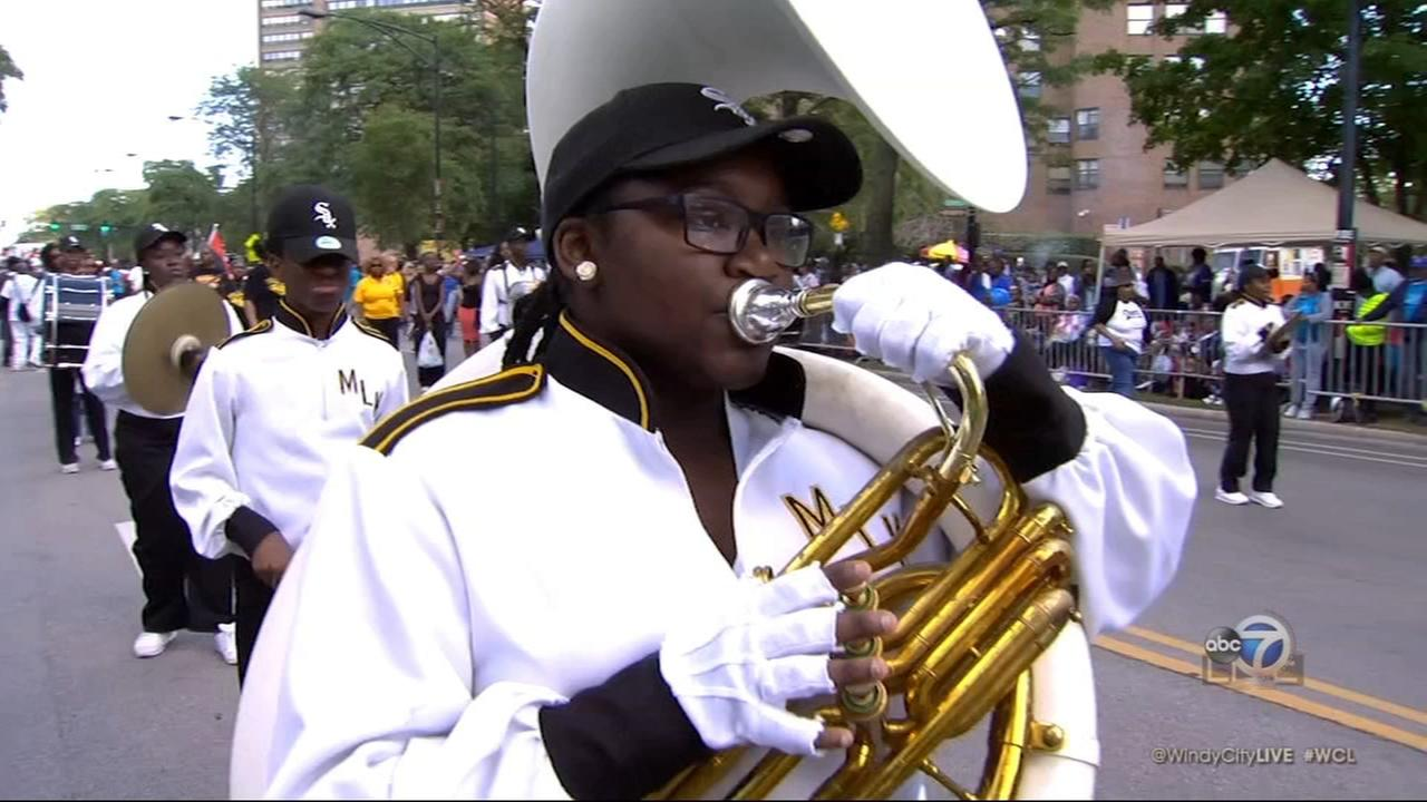 Bud Billiken Parade grand marshal previews parade for WCL