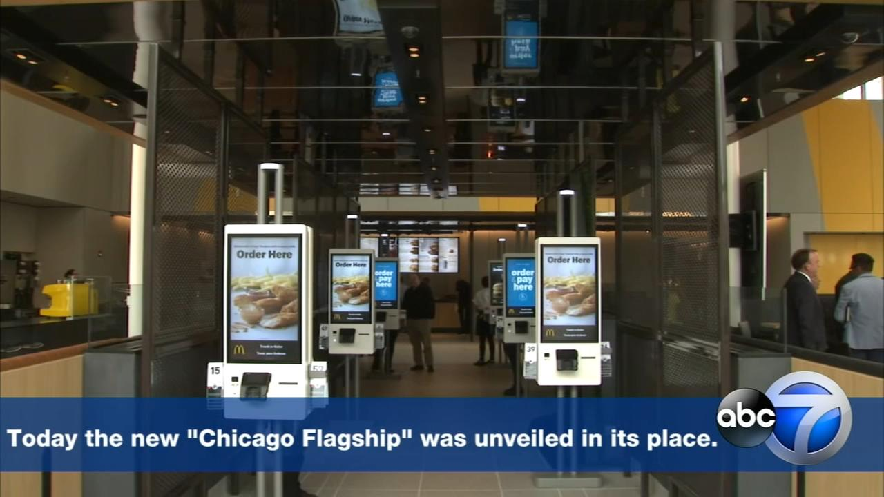 McDonalds unveils new Chicago Flagship