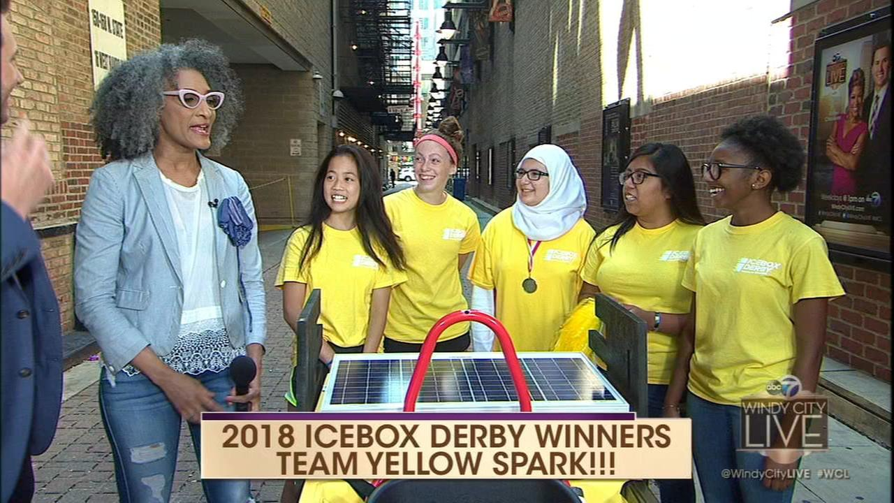 Ice Box Derby champions talk about women in engineering