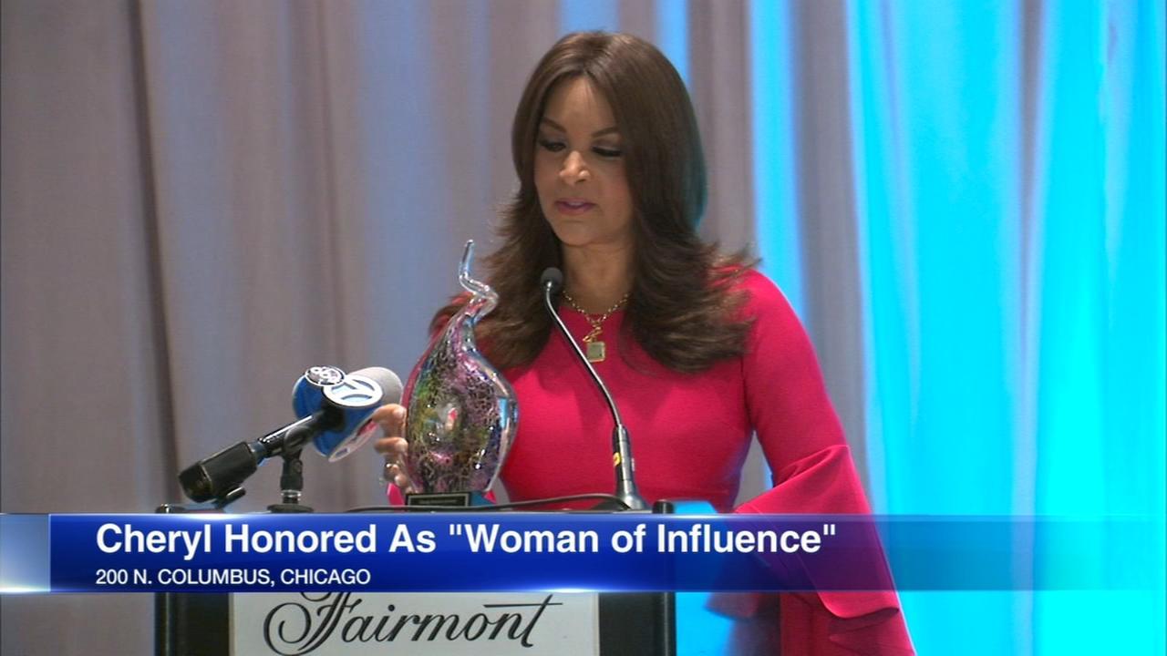 Cheryl Burton given Women of Influence award
