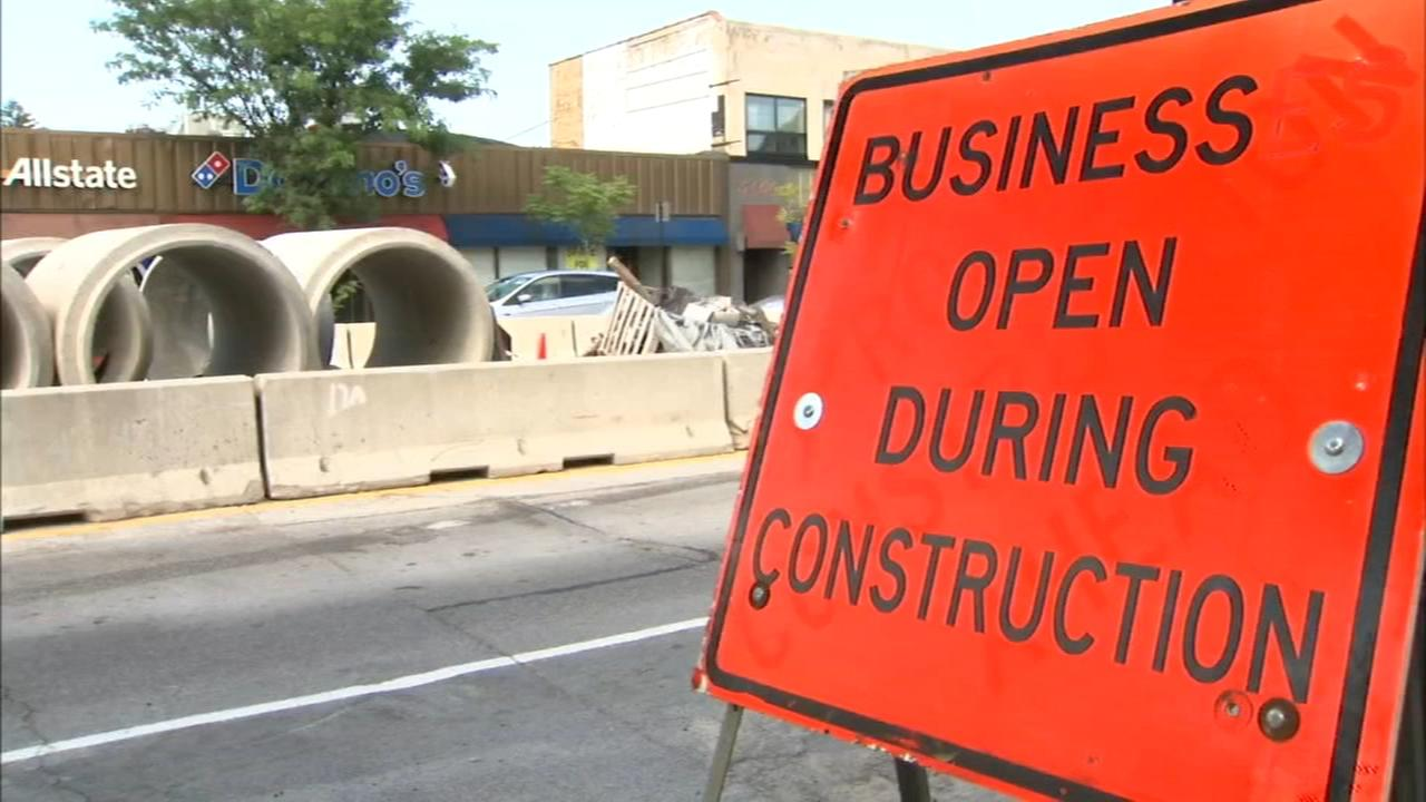 Edgebrook business owners doomed by drawn-out construction project
