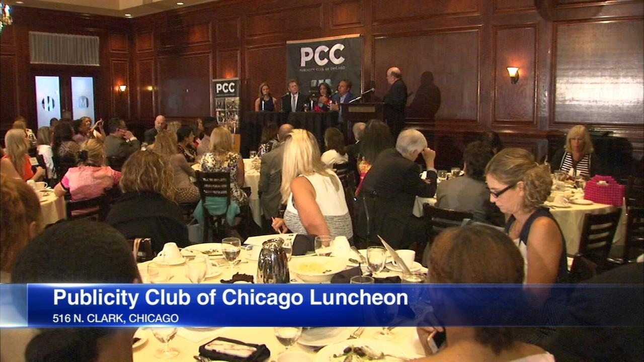 ABC7 anchors appear at Publicity Club luncheon
