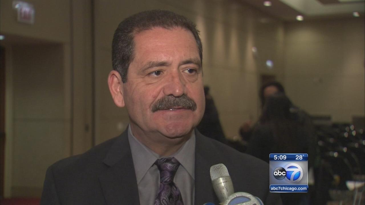 Jesus Chuy Garcia discusses mayoral run