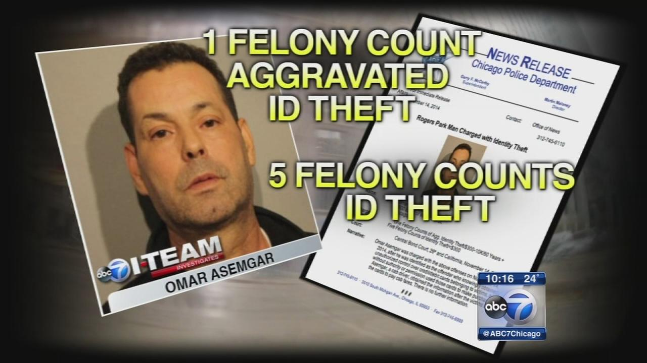 Cab driver charged with ID theft