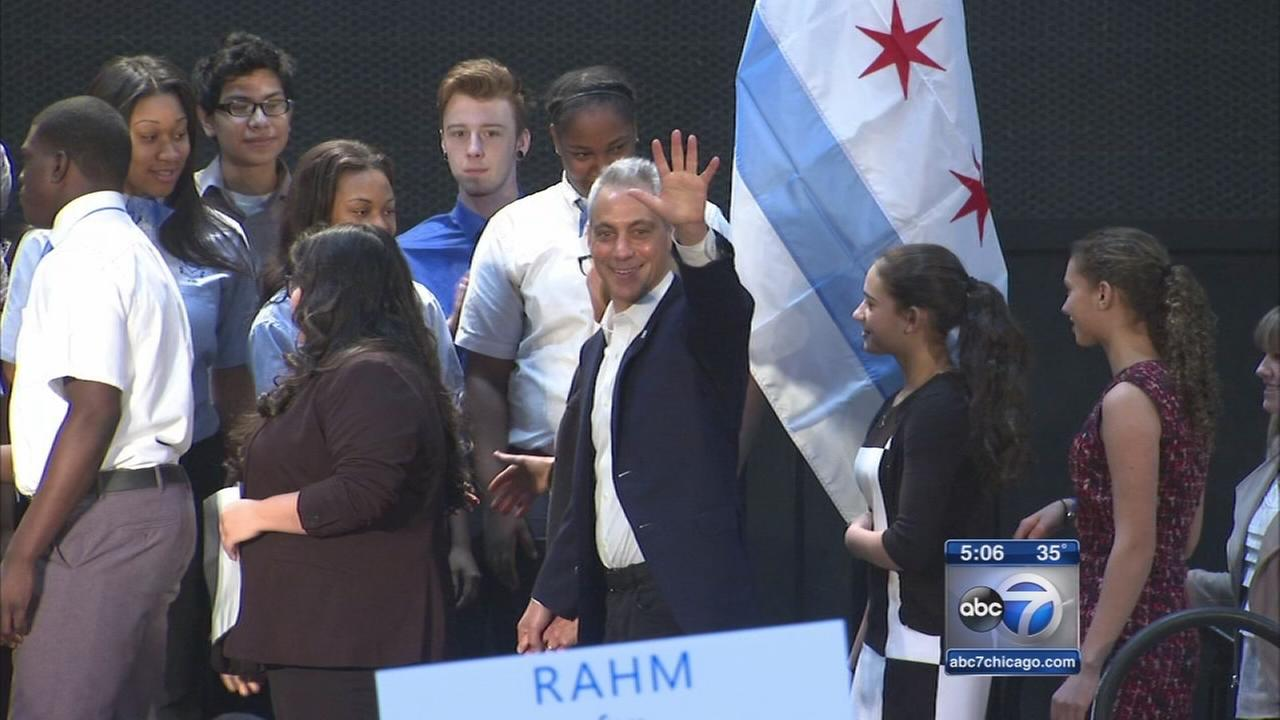 Mayor Emanuel officially launches re-election campaign