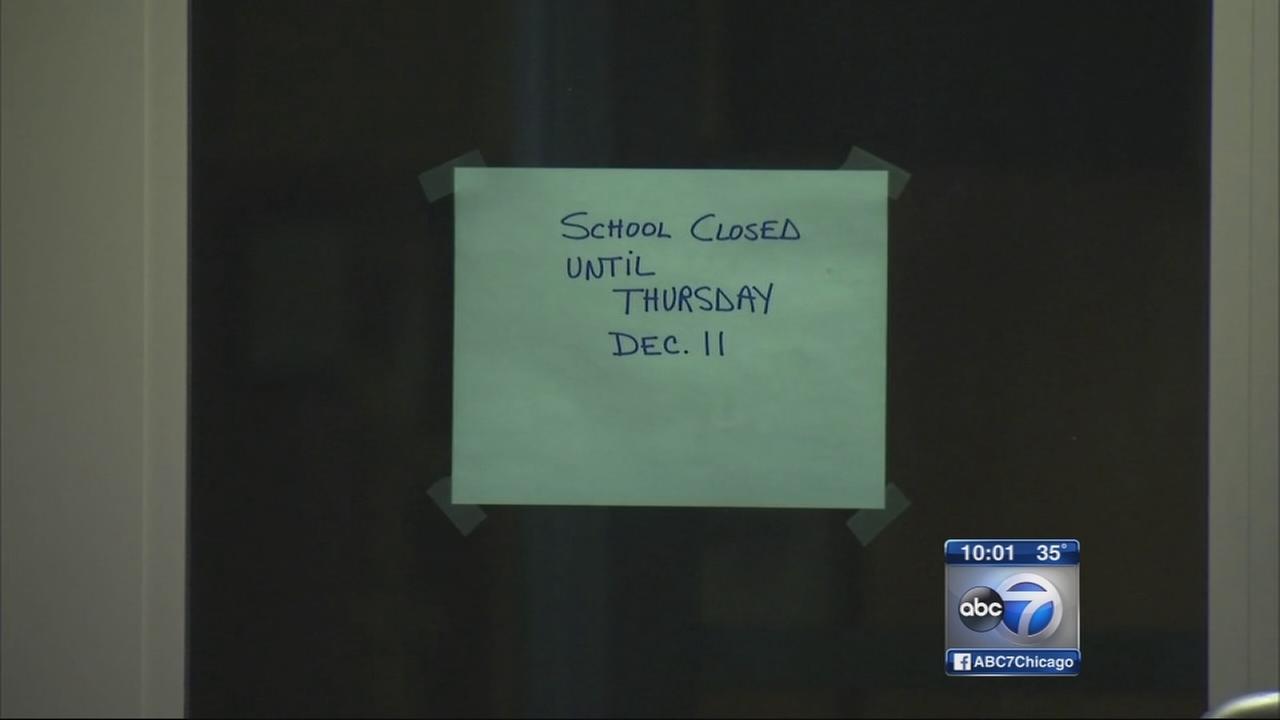 Flu outbreak closes suburban school