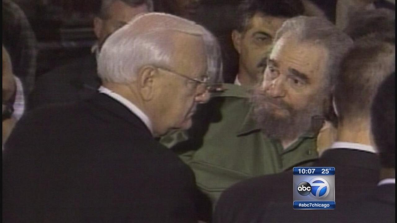 George Ryan speaks about Cuba relations