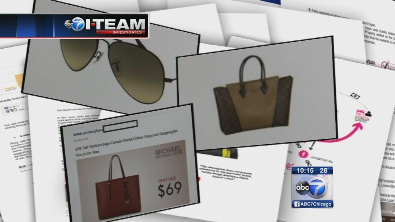 Counterfeiters targeting social media with fake goods