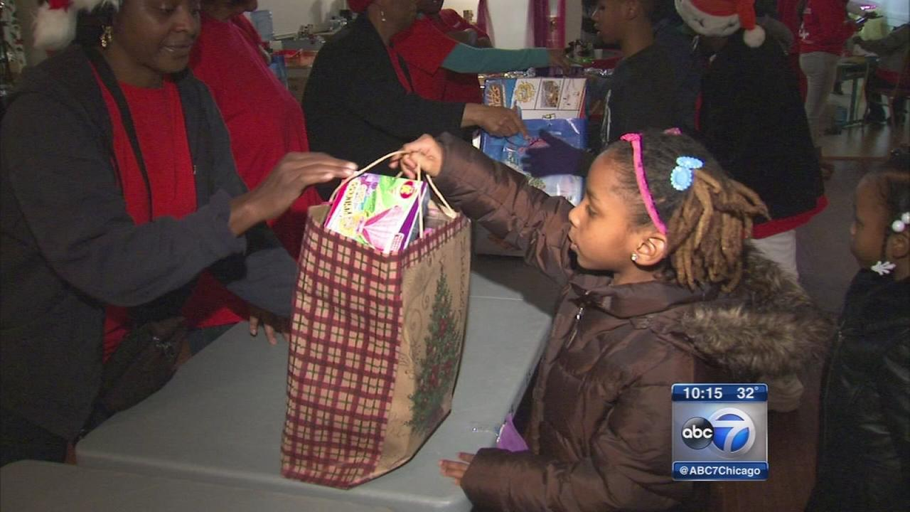 englewood kids get early christmas that almost didnt