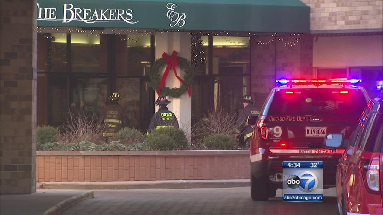 Woman, 81, injured in high rise fire