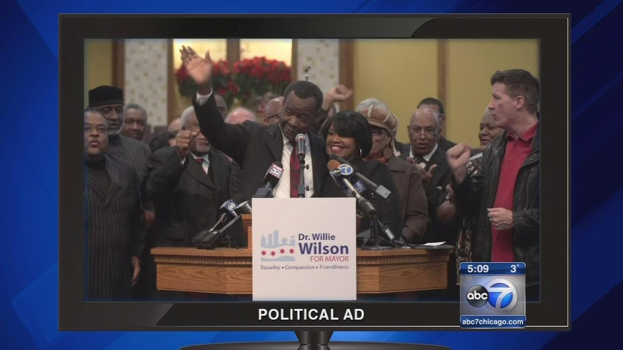 Mayoral candidate joining campaign ad war