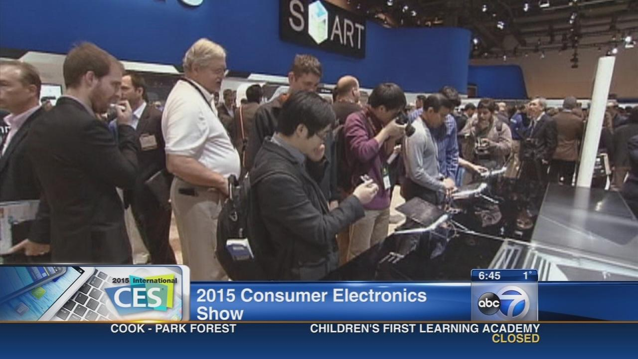 Most popular products at CES 2015