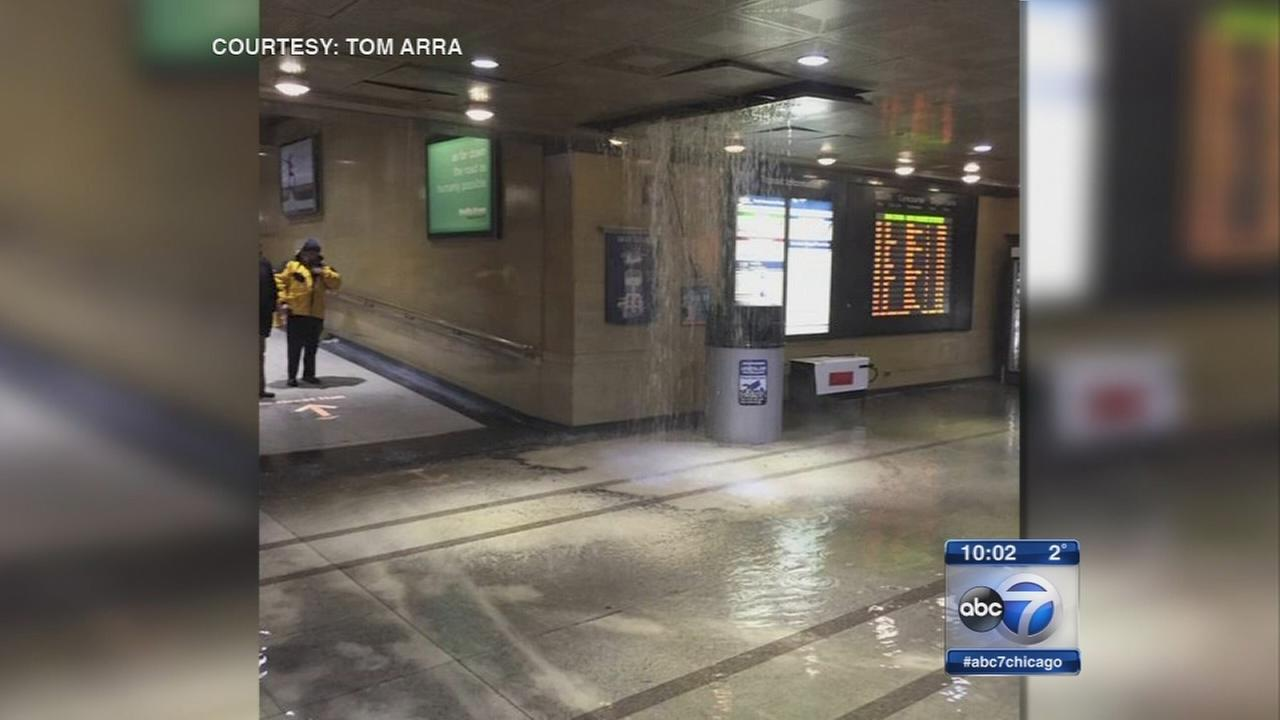 2nd pipe burst at Union Station this week