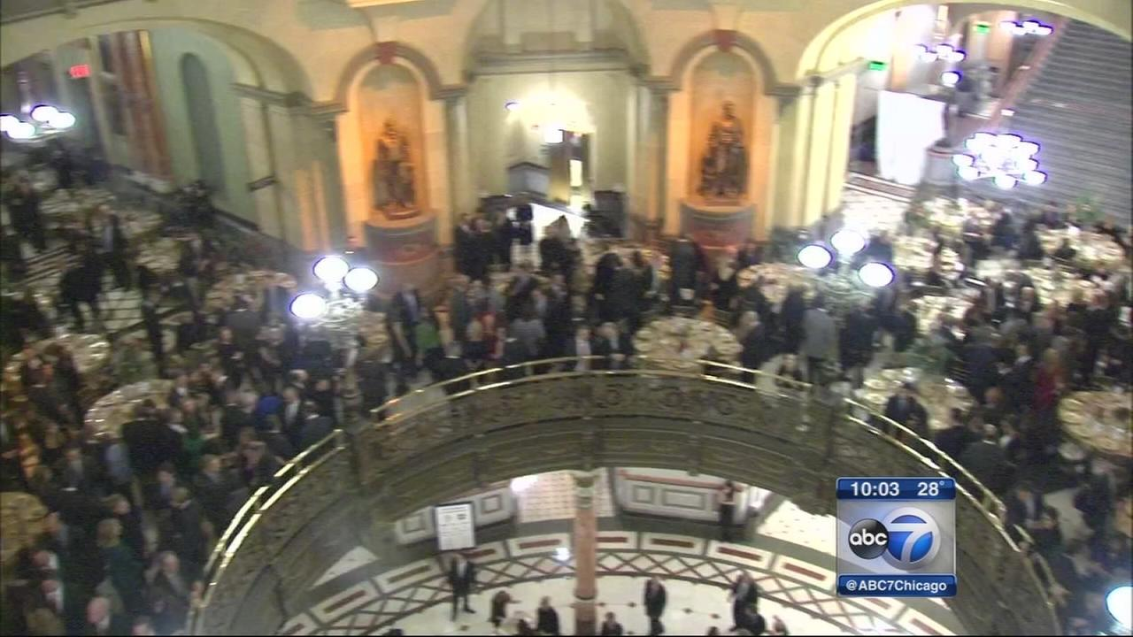 Governor-Elect Rauner hosts inaugural dinner in Springfield