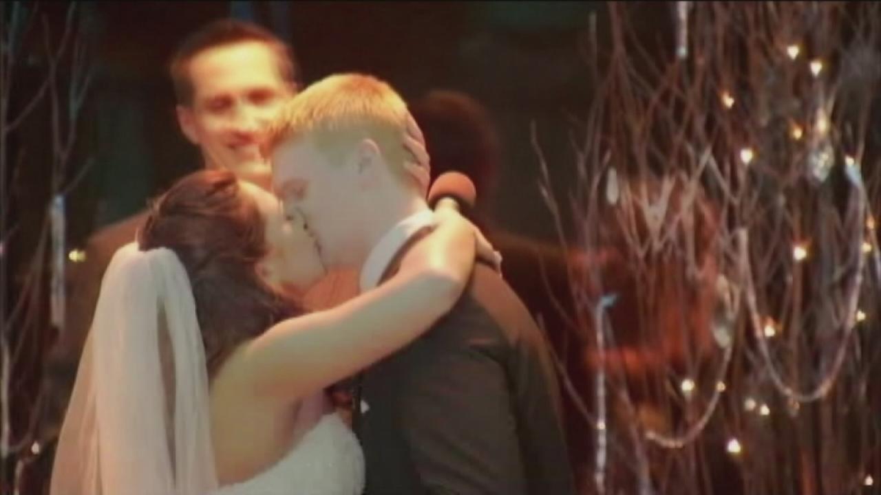 Flower girl marries ring bearer 20 years later