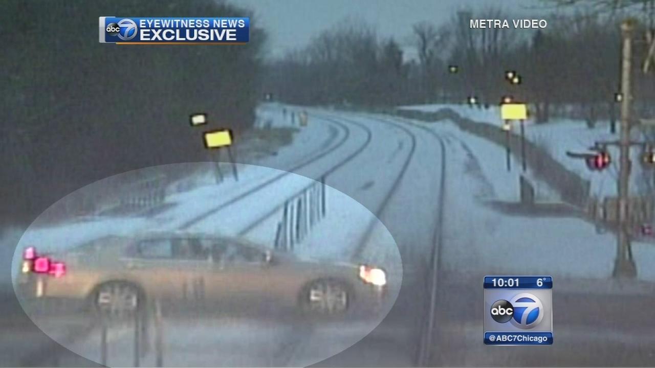 Metra releases Itasca crash video