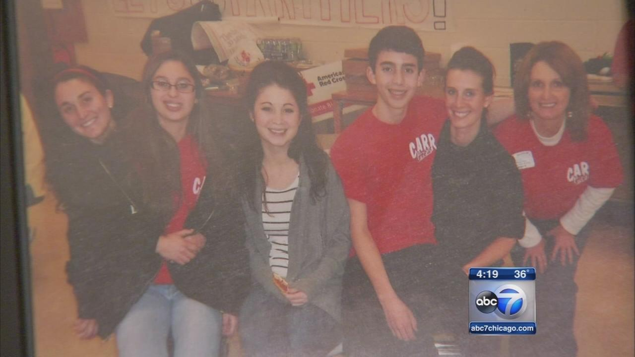 Oswego teen holds blood drives to help other sick kids
