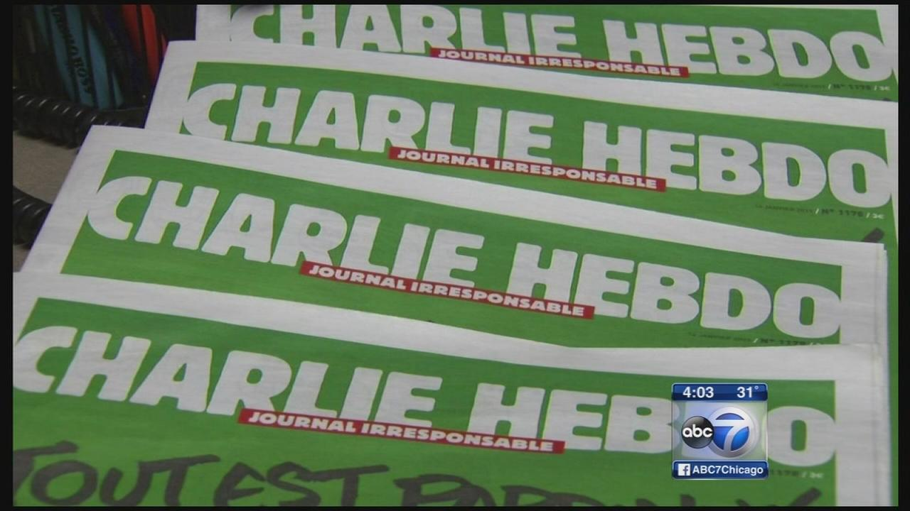Buyers reserve Charlie Hebdo