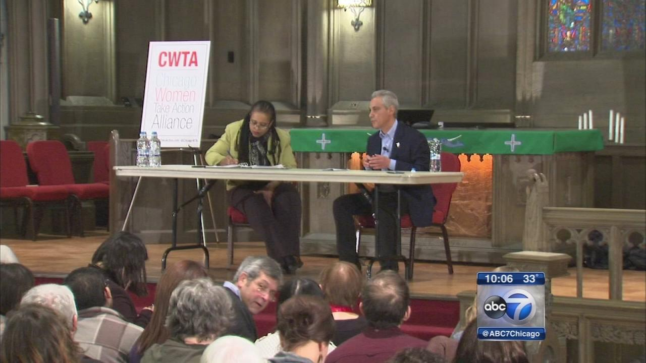 All 5 mayoral candidates appear at forum