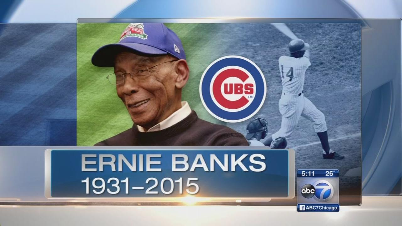 Public memorial planned to honor Mr. Cub, Ernie Banks