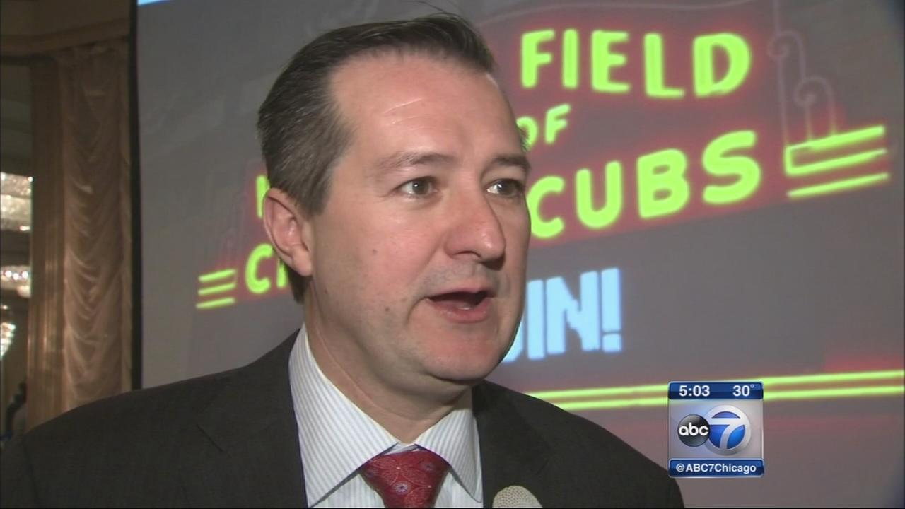 Cubs chairman talks Wrigley renovations