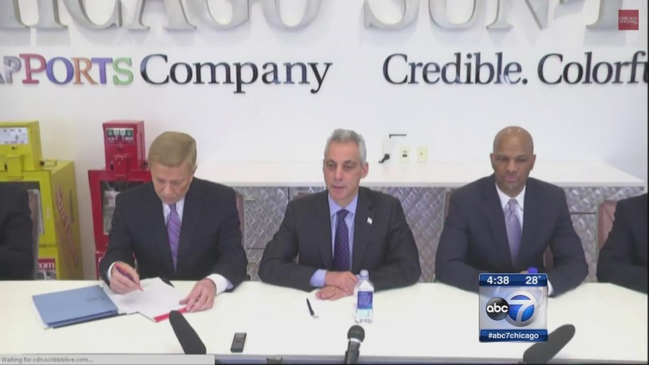 Mayoral challengers resume attacks on Emanuel