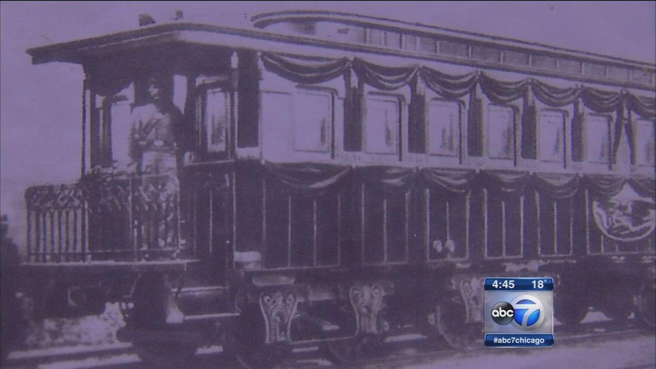 Lincoln Funeral Train rebuilt