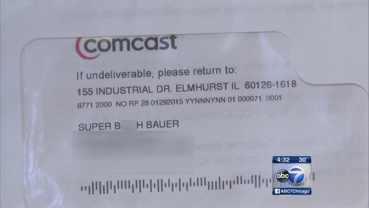 Woman says Comcast called her vulgar name on bill