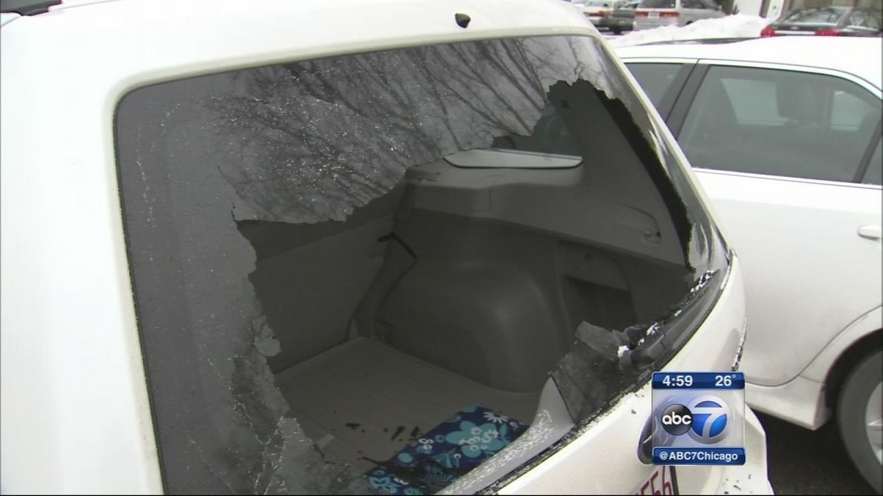 Cars vandalized at suburban preschool