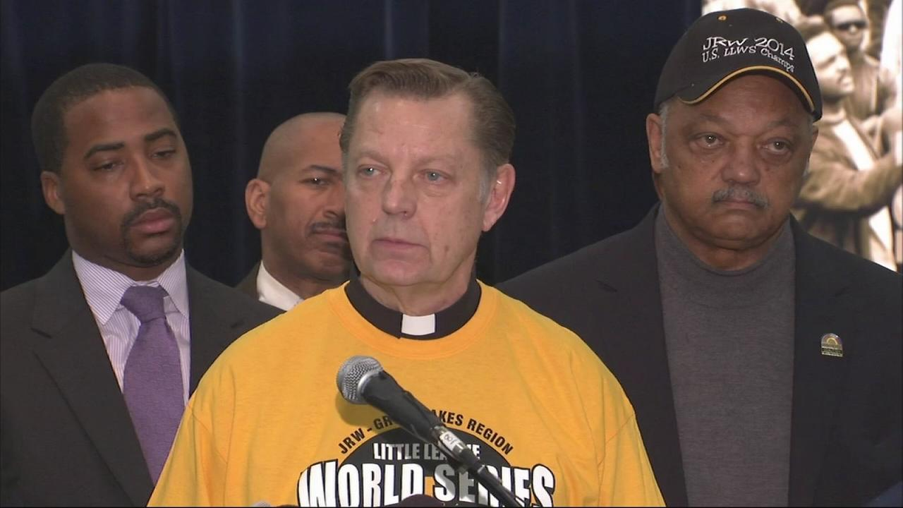Pfleger calls for reversal on JRW