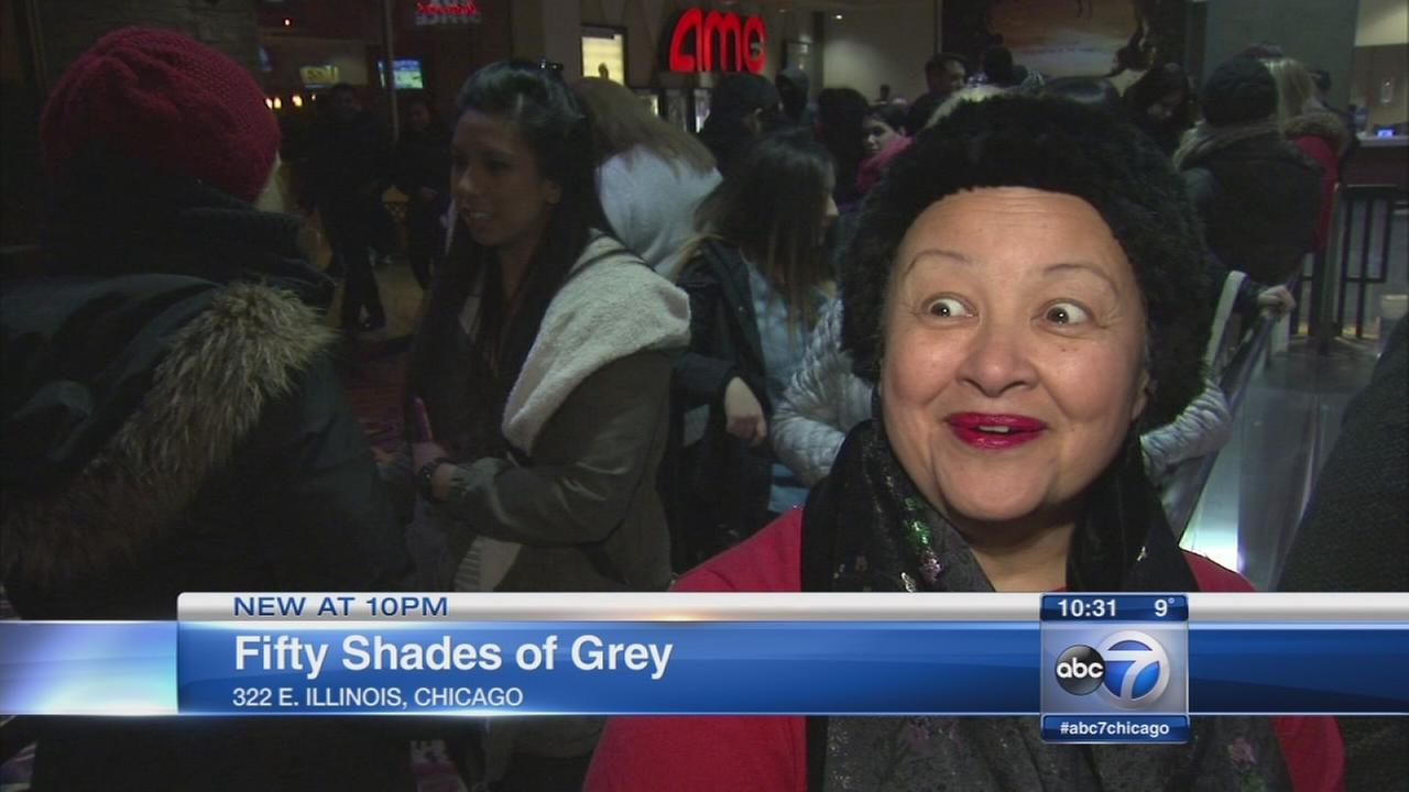 Chicago 50 Shades of Grey fans among first to see film