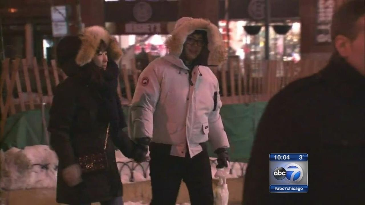 Dangerous cold puts Chicago in deep freeze