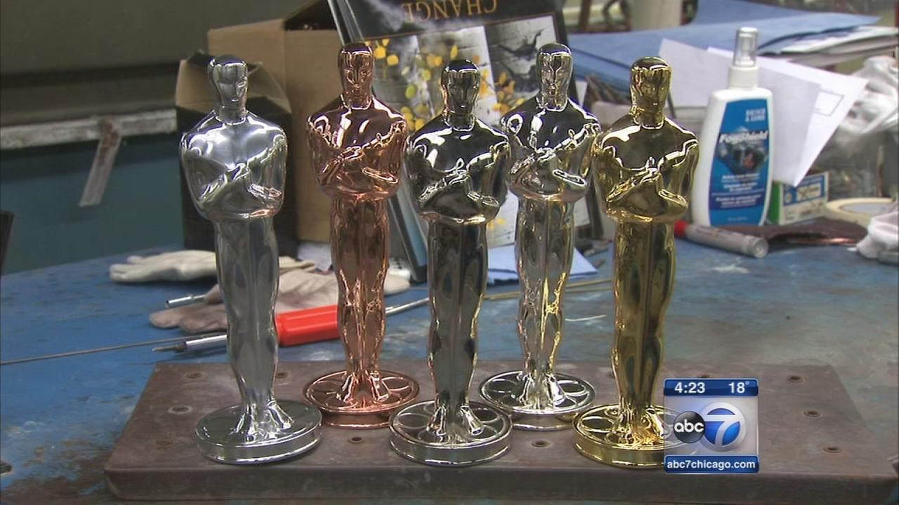 Hollywoods most coveted award is made in Chicago