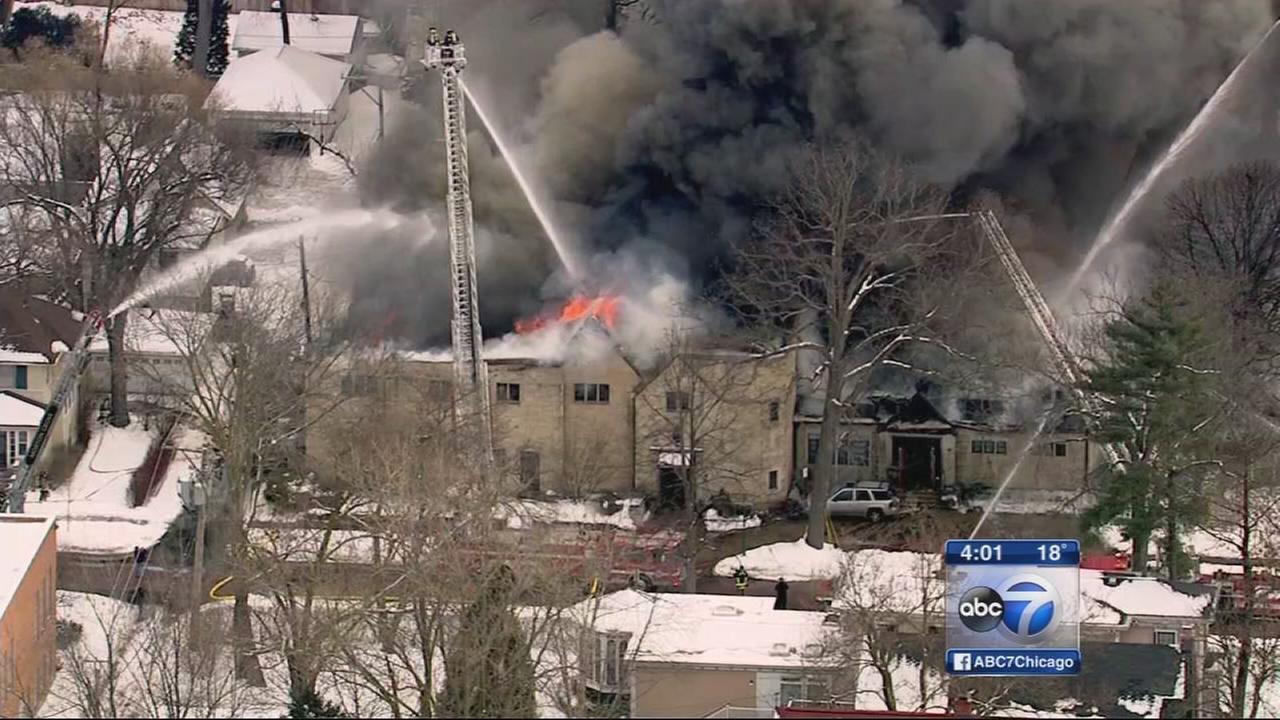 Wilmette fire destroys historic building