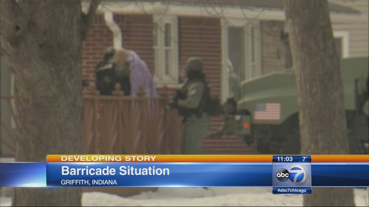 Girl, 6, rescued from home in Griffith standoff