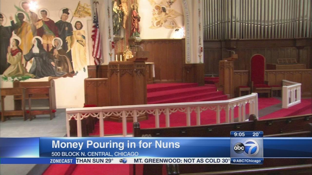 Donations pour in for nuns without heat