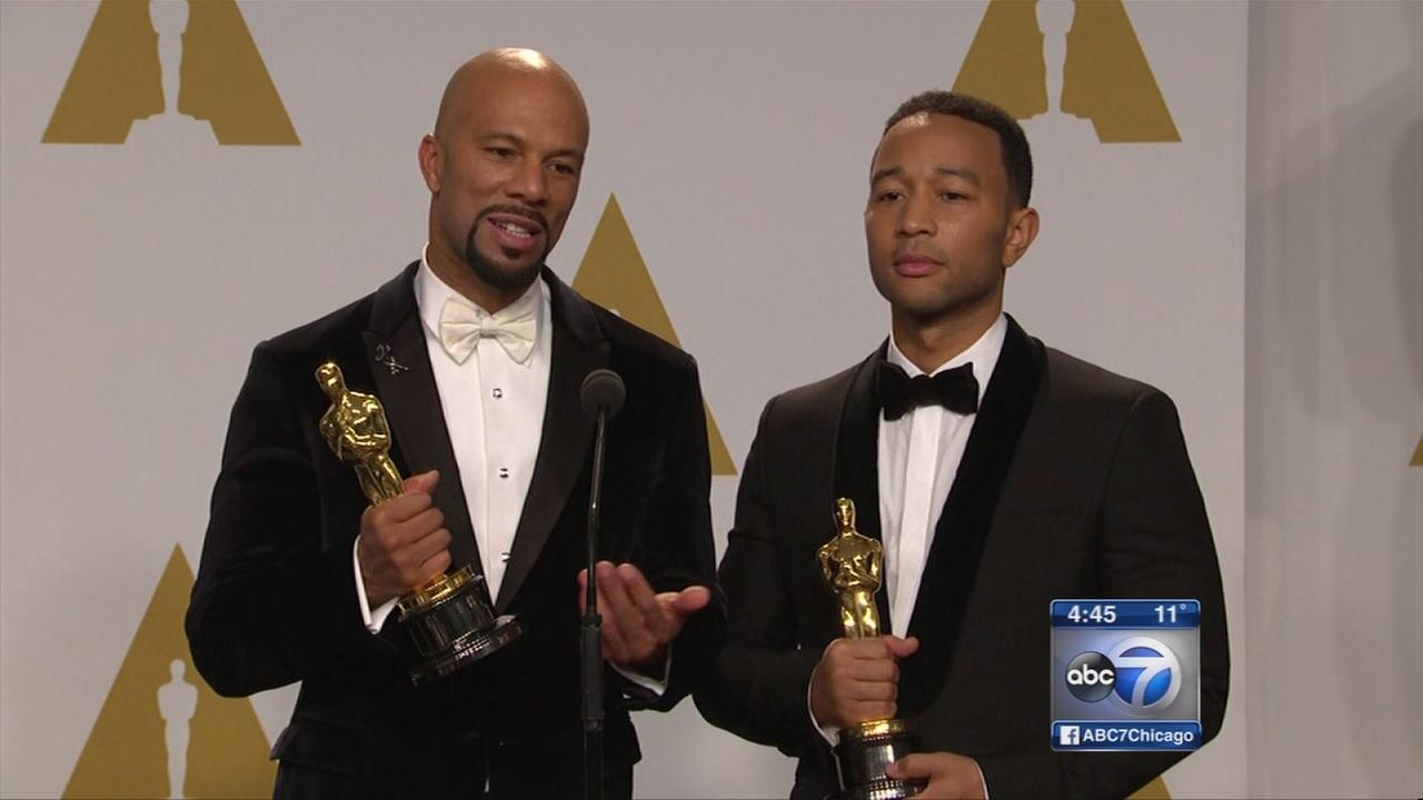 Chicagoans pick up Oscars for original song
