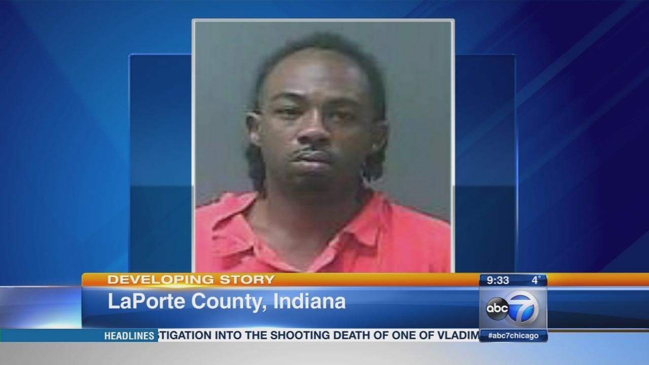 75 mile police chase ends in Indiana