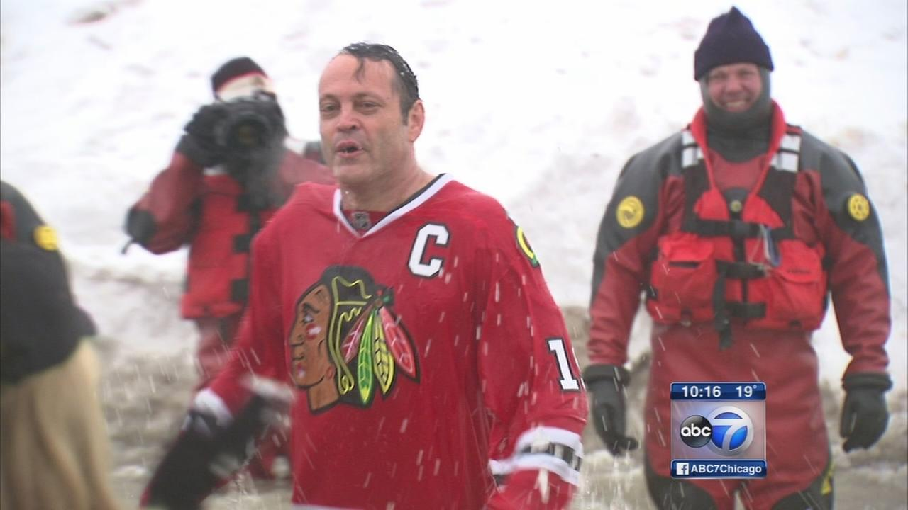 Annual Polar Plunge held for Special Olympics Chicago