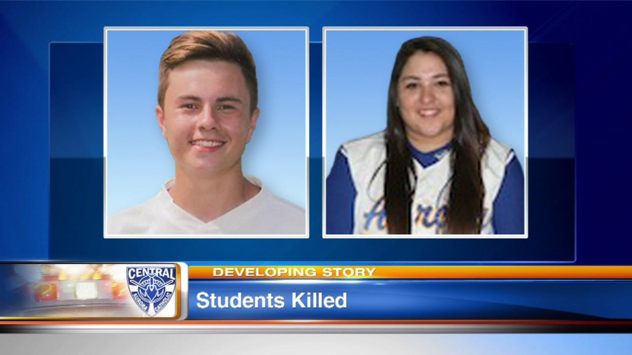 Funerals for 2 Aurora Central Catholic students to be held Monday