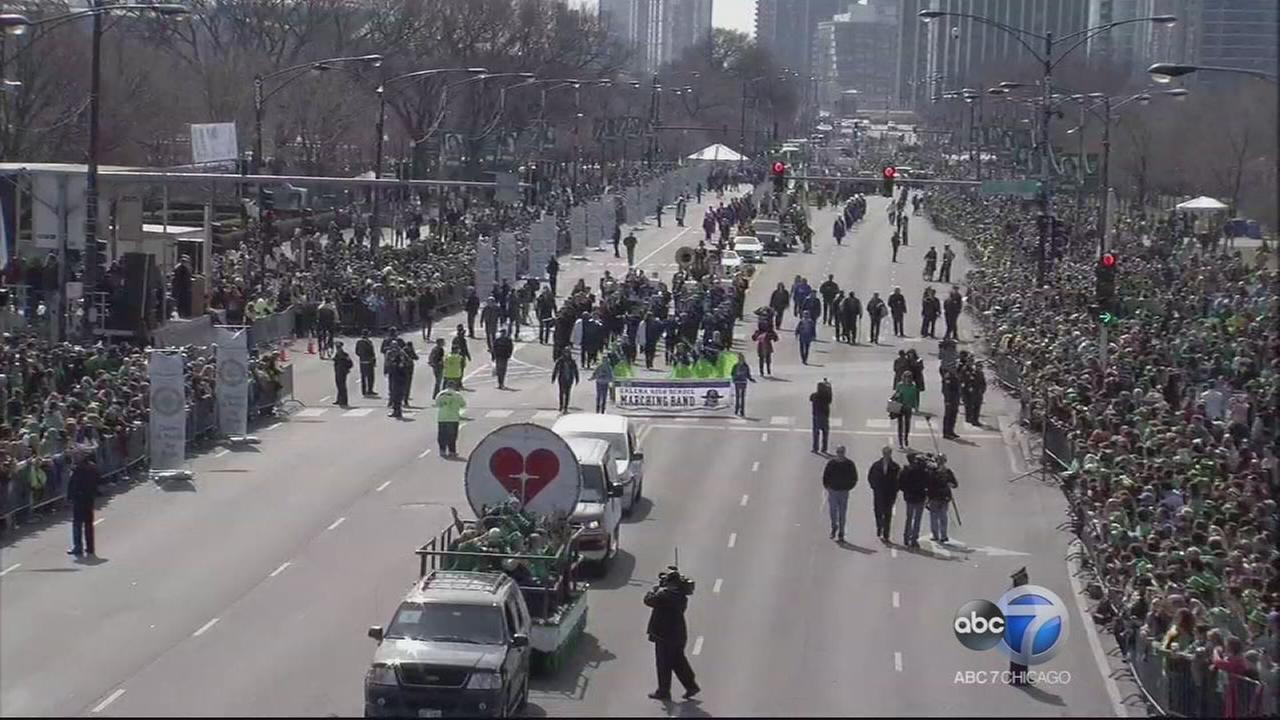 Chicago St. Patricks Day Parade 2015