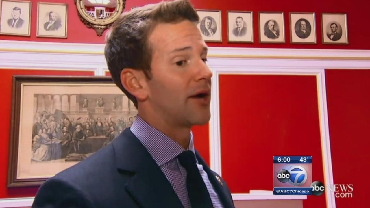 Illinois Congressman Aaron Schock resigning