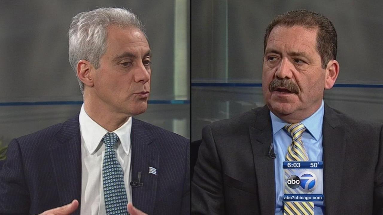 Garcia surpasses Emanuel in late campaign donations