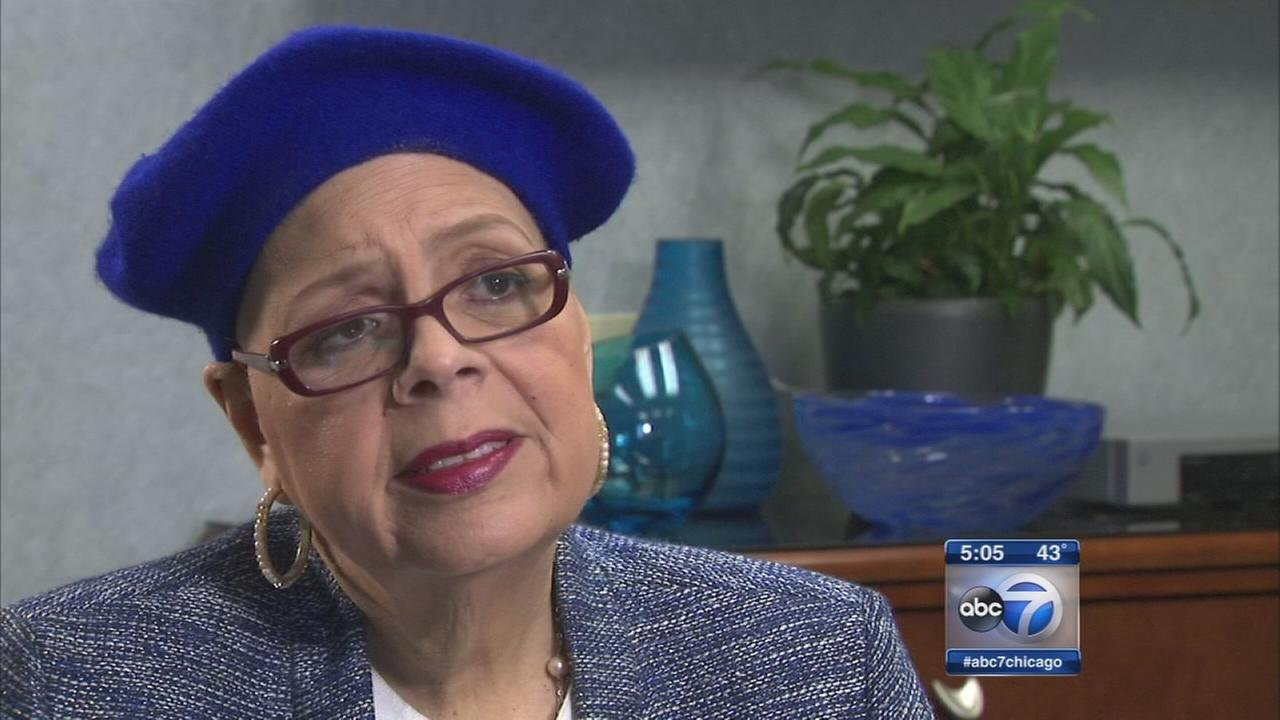 ABC7 exclusive interview with Karen Lewis