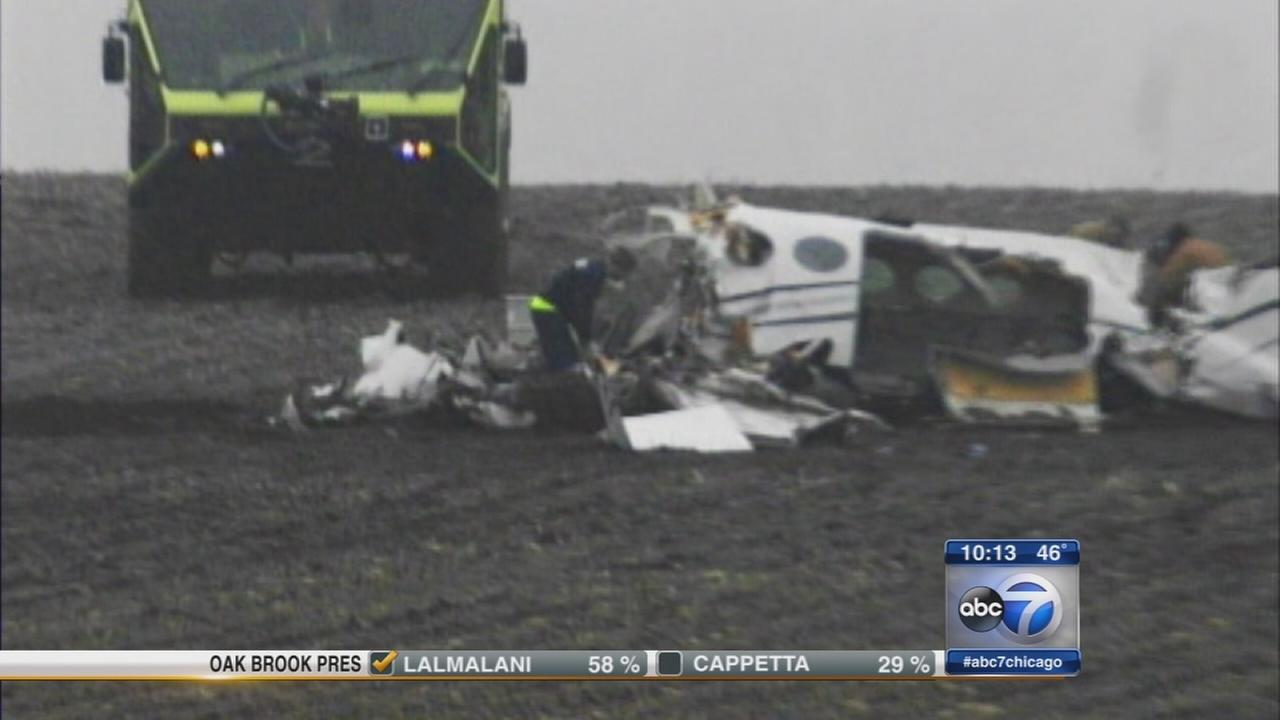 Plane crash victims remembered at vigil