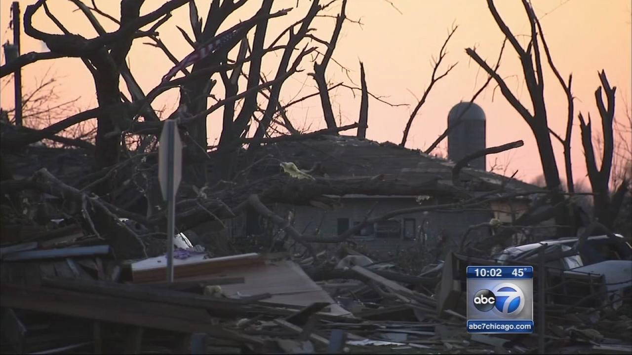 Donations pour in to tornado-ravaged Fairdale