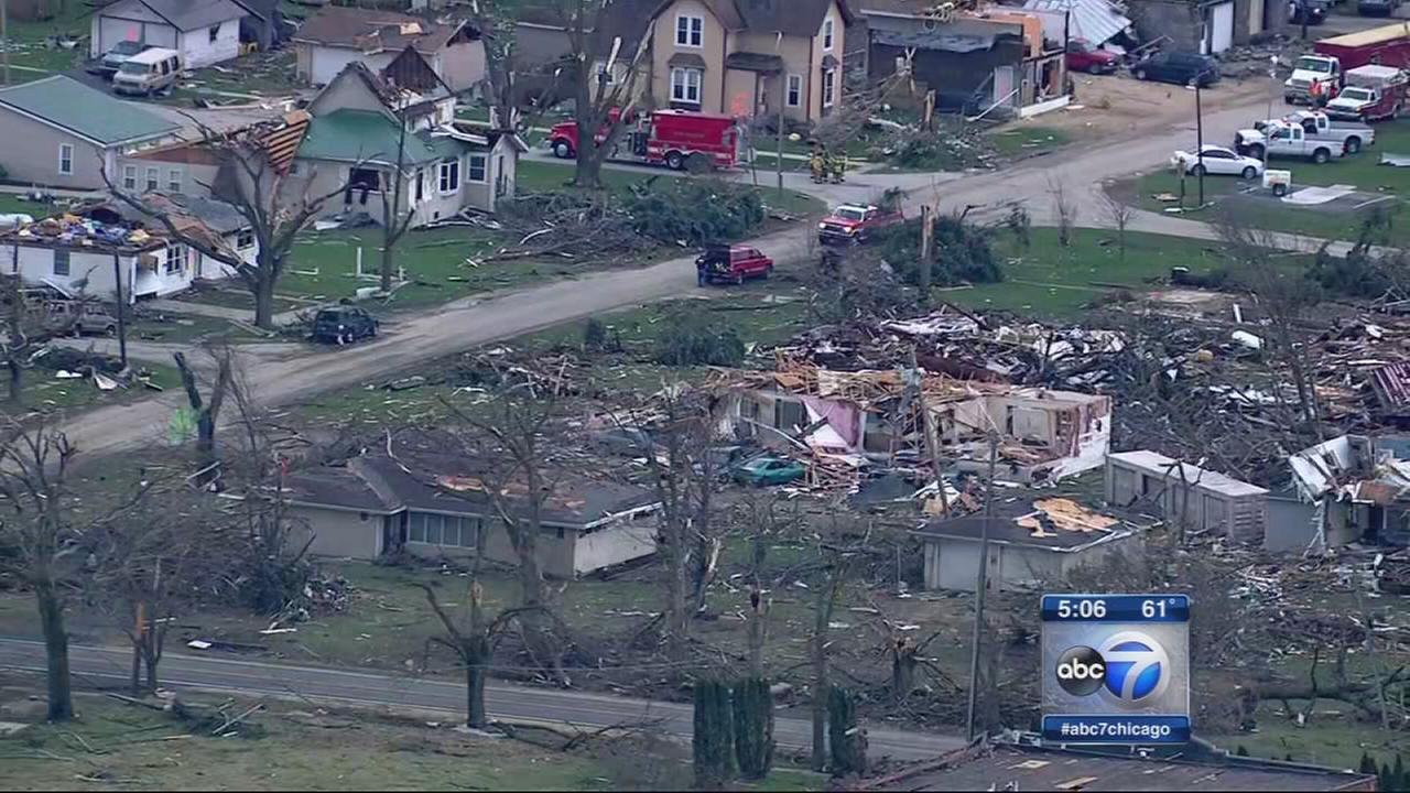 Illinois tornado victims: How to help