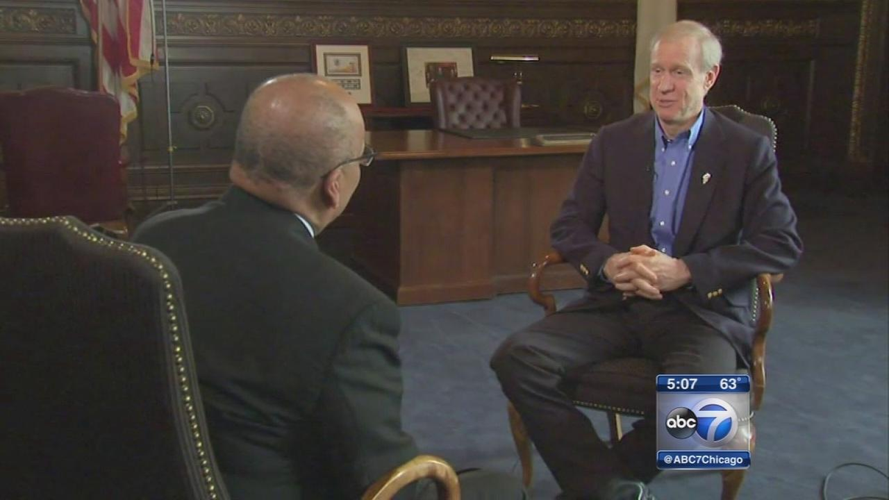 Rauner says he?s ?shaking up Springfield? to fix Ill. budget