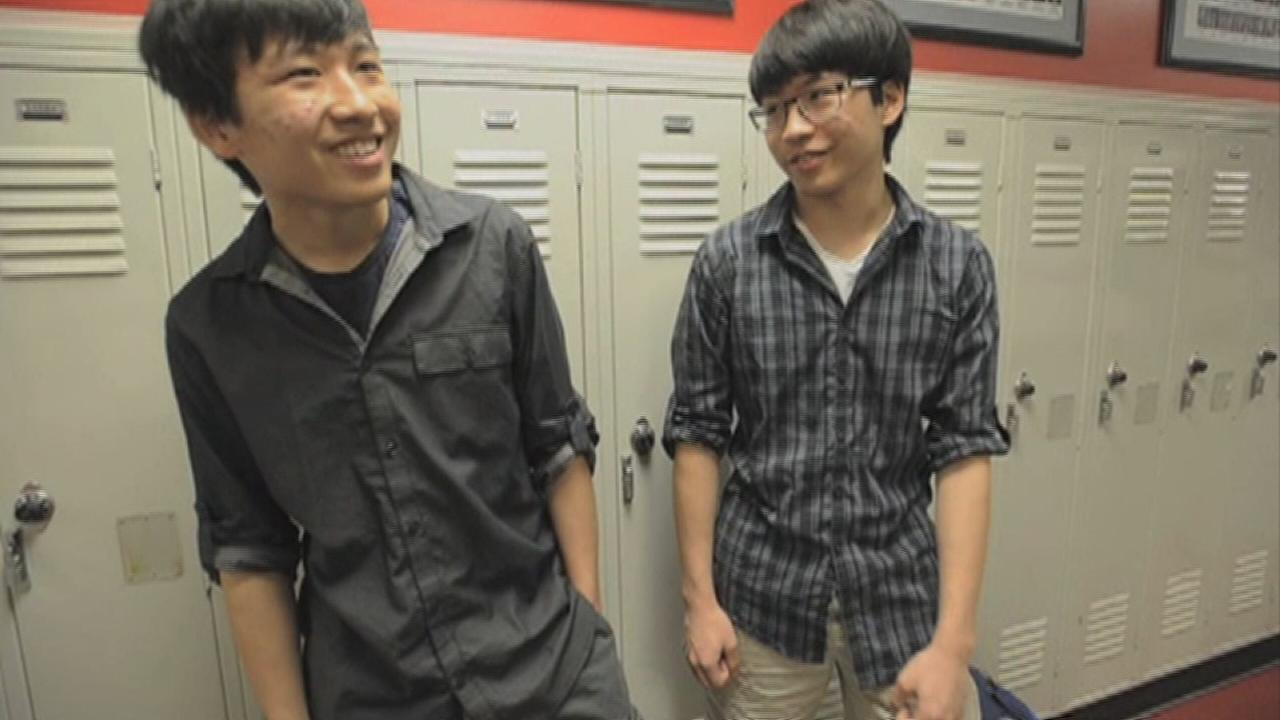 Twins discuss perfect ACT scores